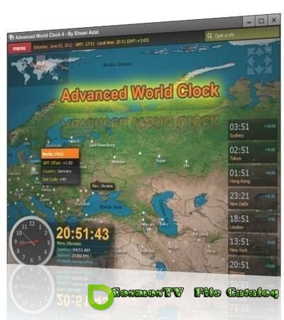 Advanced World Clock 4 Final (2012)