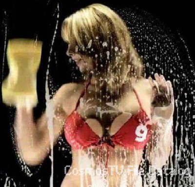 Девушки моют ваш монитор (Screensaver) Girls wash your monitor