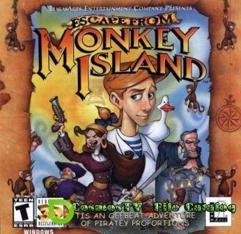 Escape from Monkey Island (2013/Rus/RePack от Sash HD)