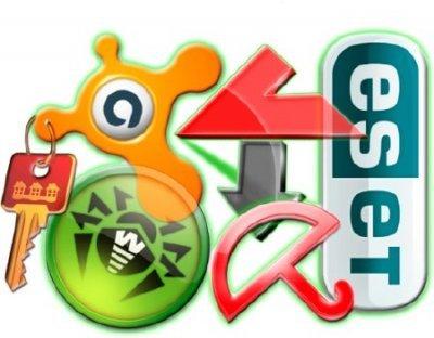 Ключи для Kaspersky, ESET NOD32, Avast, Avira от 11.11.2013 г.