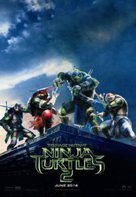 Черепашки-ниндзя 2 / Teenage Mutant Ninja Turtles: Out of the Shadows (2016)HDRip